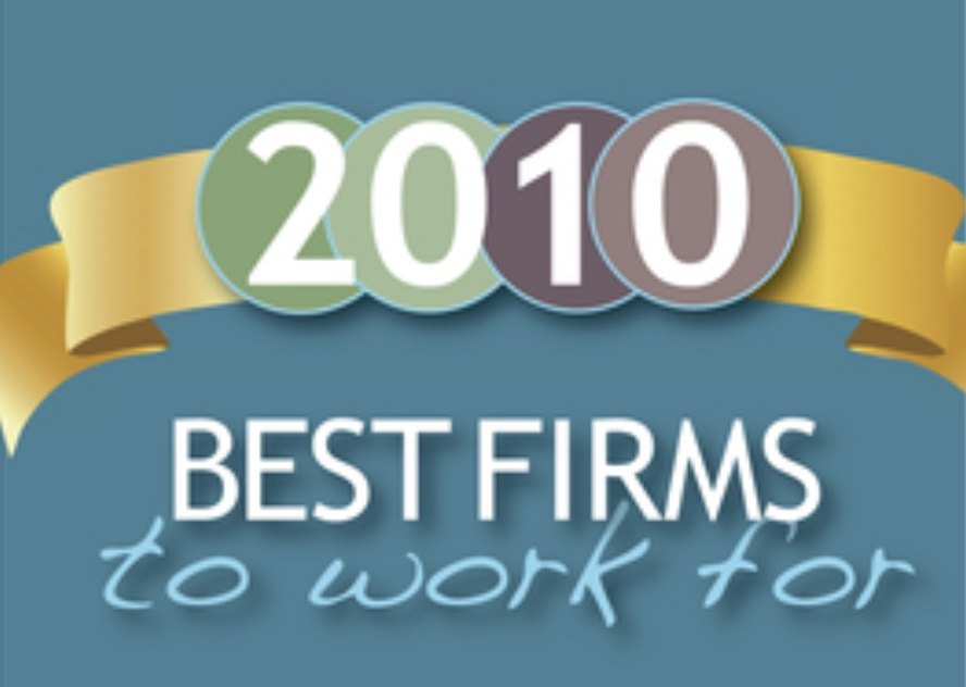 The Best Firms to Work For, 2010