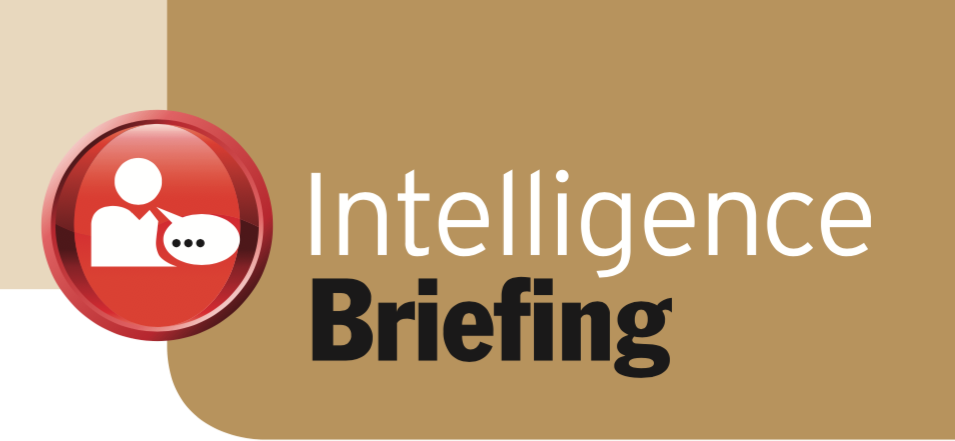 Intelligence Briefing: Forest and Trees, Etc.