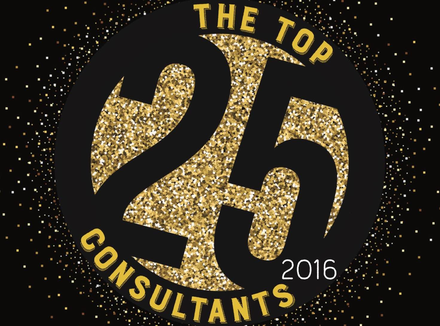 The 2016 Top 25 Consultants