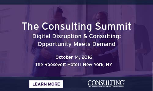 """<a href=""""https://www.eiseverywhere.com/ehome/185191"""">The Consulting Summit 2016</a>"""