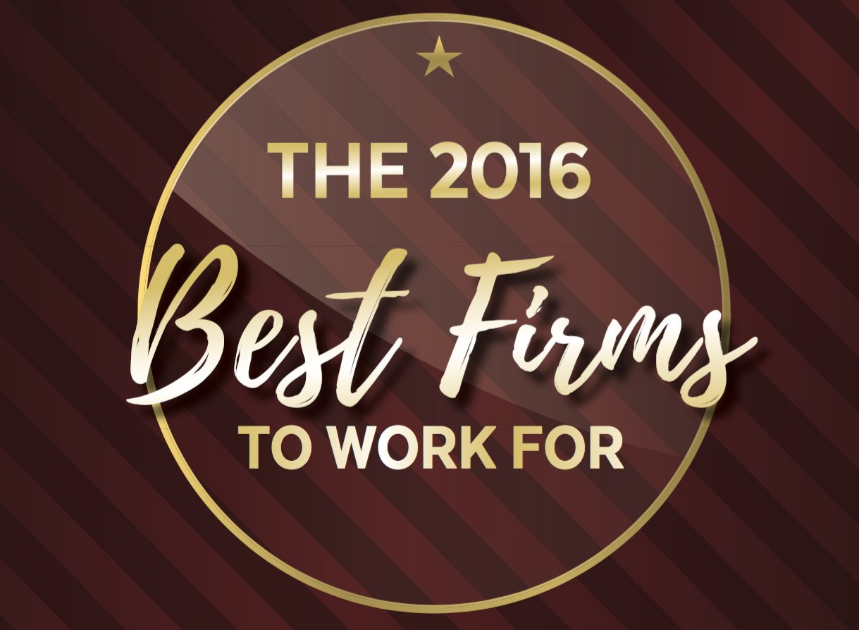 The 2016 Best Firms to Work For
