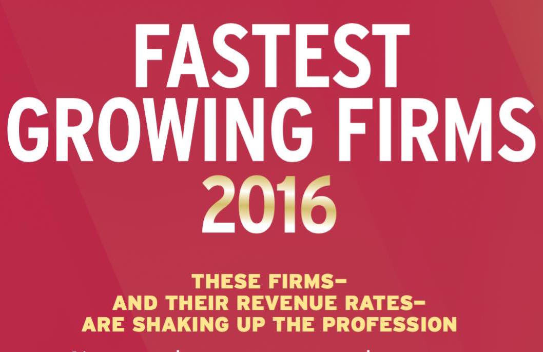 The 2016 Fastest Growing Firms