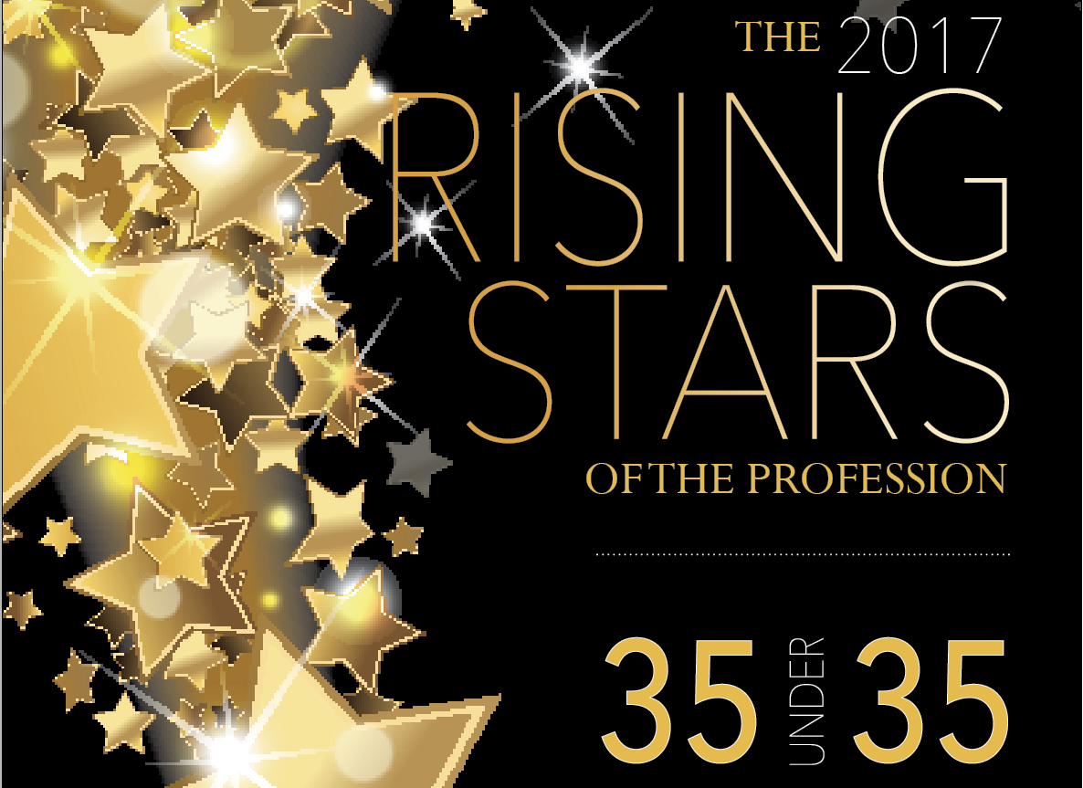 The 2017 Rising Stars of the Profession