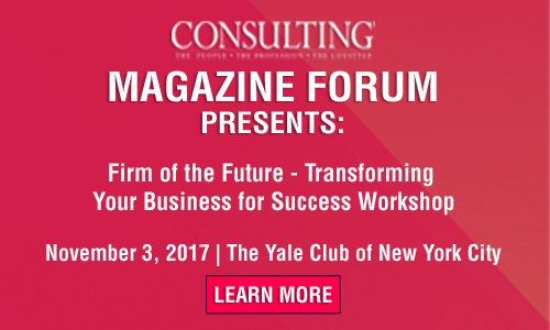 """<a href=""""http://www.consultingfastestgrowingfirms.com/ehome/271820/597763/"""">Consulting Magazine Forum: Firm of the Future—Transforming Your Firm for Success</a>"""