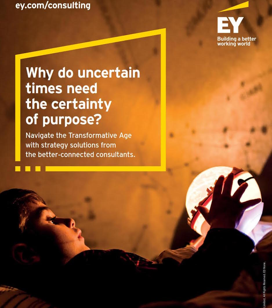 EY Launches Consulting Ad Campaign Highlighting How It Will Lead Clients Through 'Transformative Age'