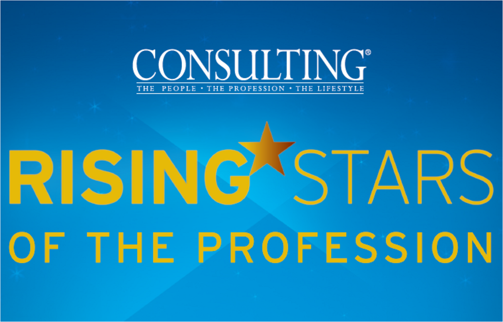 Consulting Magazine Reveals the 2018 Rising Stars of the Profession