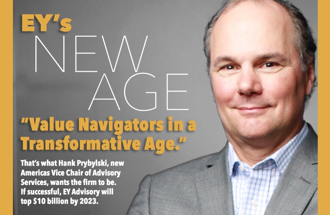 Hank Prybylski's Leading EY's New 'Transformative Age'