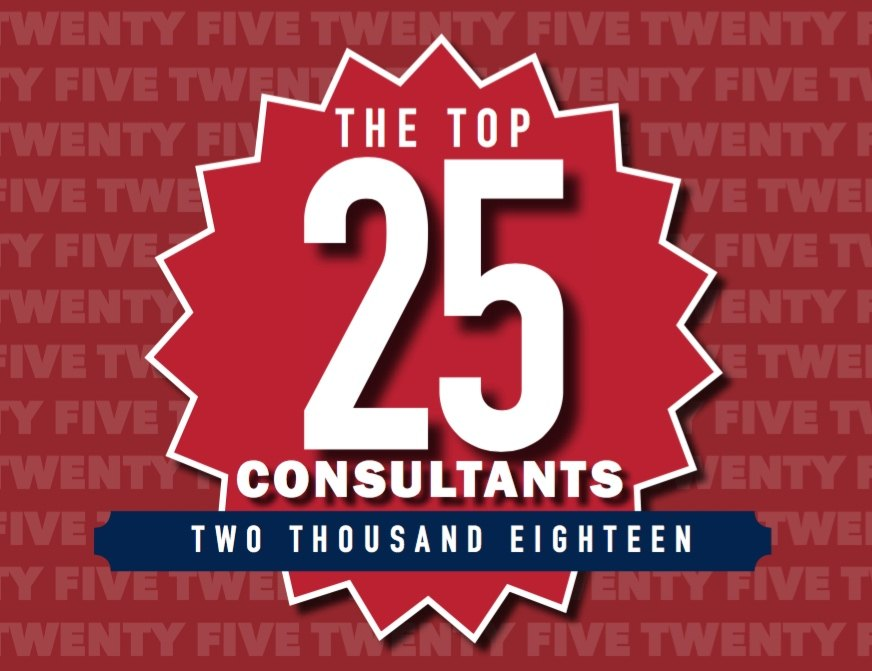 The 2018 Top 25 Consultants