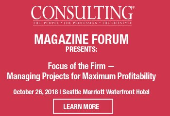 <a href=&quot;https://www.consultingfastestgrowingfirms.com/ehome/361785/774711/&quot;>Consulting Magazine Forum: Focus of the Firm - Managing Projects for Maximum Profitability</a>