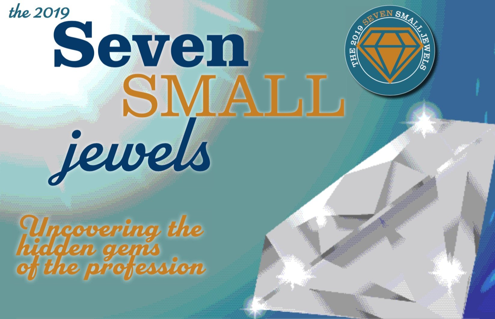 The 2019 Seven Small Jewels: Uncovering the Hidden Gems of the Profession