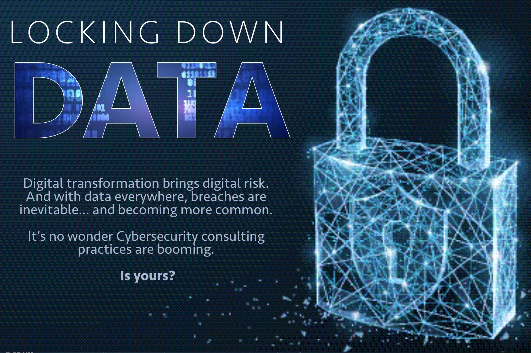 Cybersecurity: Locking Down Data