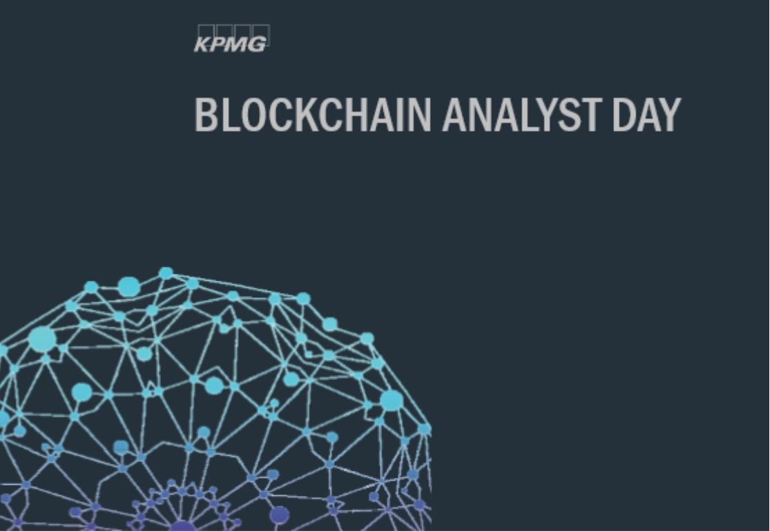 KPMG Blockchain Analyst Day