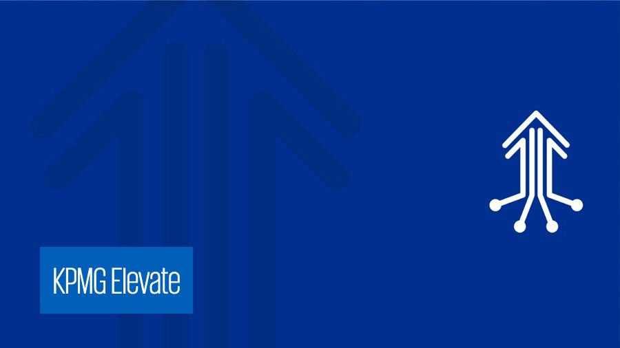 KPMG Launches Elevate, a 'Next Generation' Performance Improvement Offering
