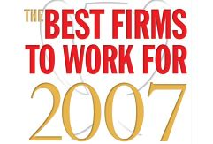 The 2007 Best Firms to Work For: An Overview