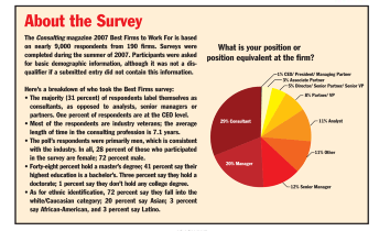 The 2007 Best Firms to Work For: About the Survey