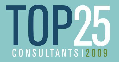 Top 25 Consultants, 2009
