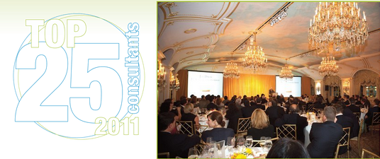 The Top 25 Consultants Awards Dinner: 2011