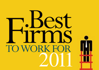 The 2011 Best Firms to Work For