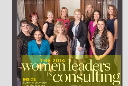 The 2014 Women Leaders in Consulting