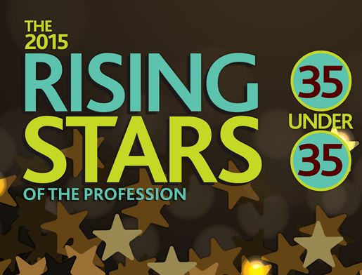 The 2015 Rising Stars of the Profession