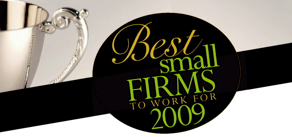 <a href=&quot;http://www.consultingmag-digital.com/consultingmag/20090910#pg38&quot;>2009 Best Small Firms To Work For</a>
