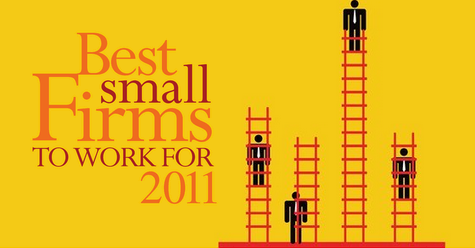 <a href=&quot;http://www.consultingmag-digital.com/consultingmag/20110910#pg18&quot;>The 2011 Best Small Firms to Work For</a>