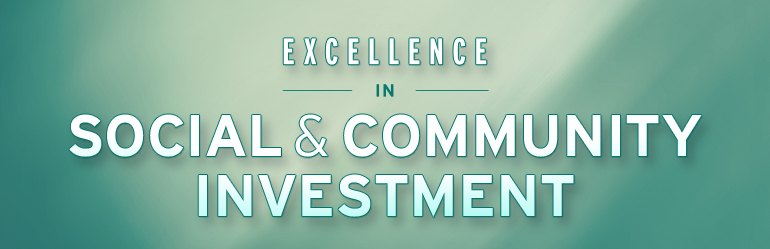 "<a href=""https://www.eiseverywhere.com/ehome/133993/304809/"">Excellence in Social and Community Investments Awards</a>"