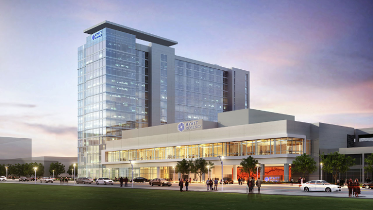 Hyatt Regency Houston Galleria Opens