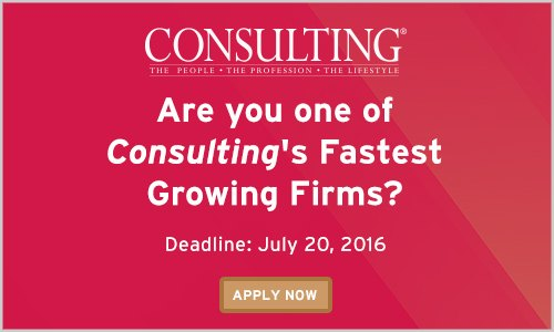 <a href=&quot;https://www.eiseverywhere.com/ehome/consultingsfastestgrowingfirms2016/374417/&quot; target=&quot;_blank&quot; rel=&quot;nofollow&quot;>Fastest Growing Firms 2016 Nominations. Deadline Extended to August 12th!</a>